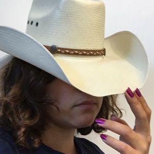 Cowboy/Vaquero Hat, Off White